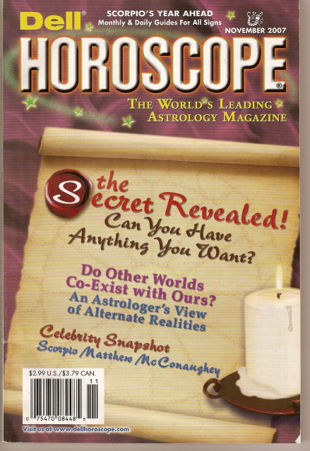 Picture of the Cover of Dell Horoscope Magazine, 05/2006