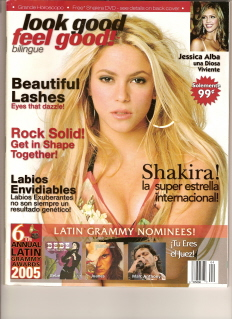 Picture of the Cover of Look Good Feel Good Magazine, Winter, 2006