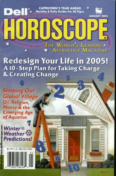 Picture of the Cover of Dell Horoscope Magazine, 01/2005
